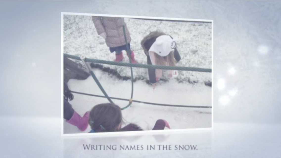 Year 1 – Outdoor learning in the snow!