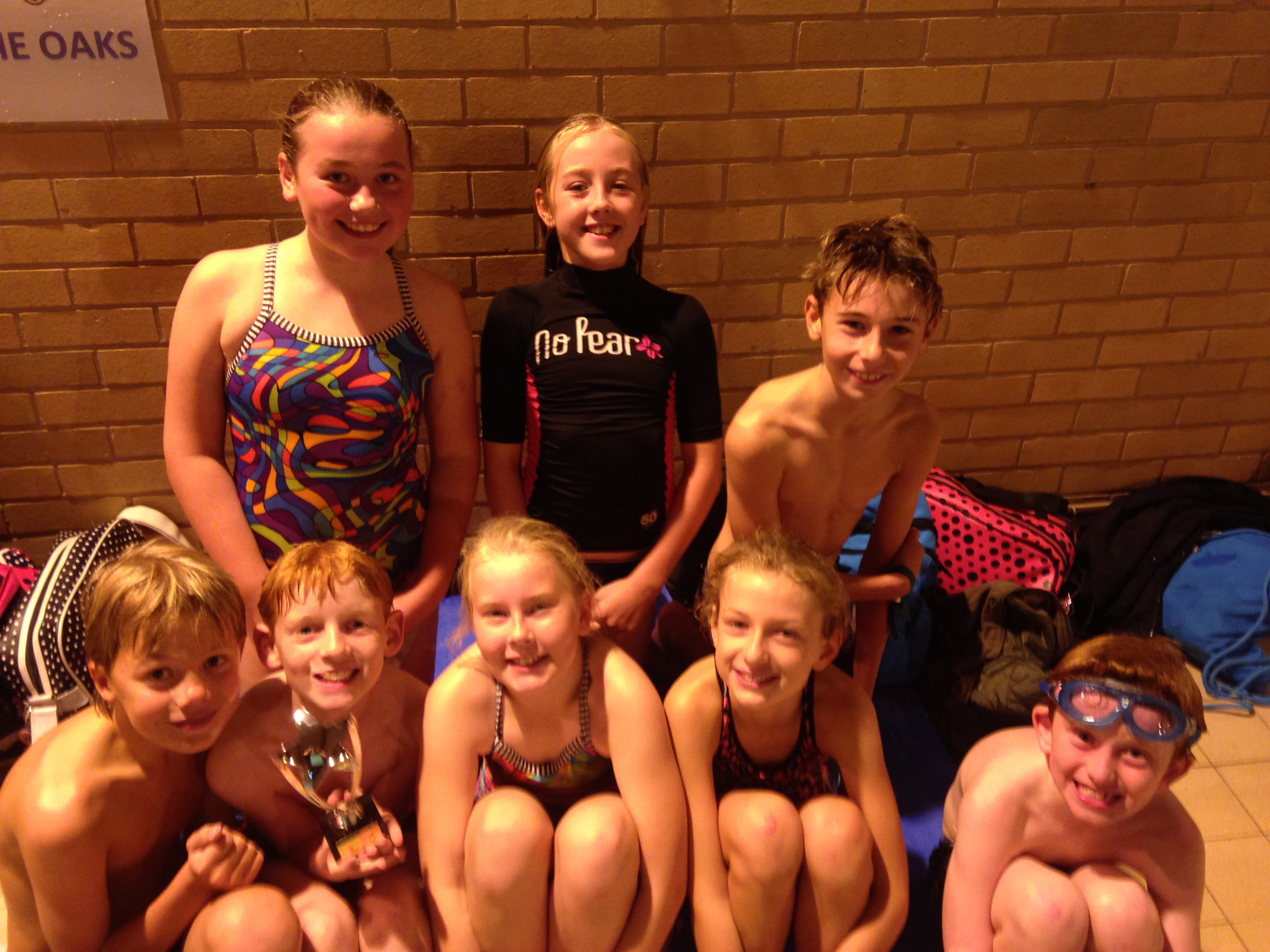 Swimming Gala Champions! – October 2014