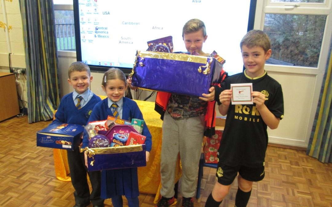 Chocolate Hamper Winners!