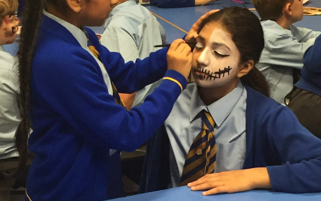 Y6 at Sharples High School ~ Performing Arts Day!